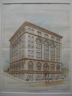 State Mutual Life Assurance Company Building , Worcester, MA, 1895, Peabody and Stearns