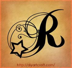 """""""R"""" Fonts for tattoos - Google Search"""