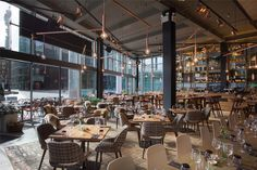 The Refinery is the eighth site from award-winning bar and restaurant group, Drake & Morgan. Situated on Regent's place, this stylish new restaurant and bar features a Scandinavian-inspired interior by Fusion Design and Architecture.