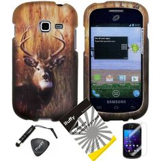 4 items Combo: ITUFFY LCD Screen Protector Film + Mini Stylus Pen + Case Opener + Outdoor Wild Deer Grass Camouflage Design Rubberized Snap on Hard Shell Cover Faceplate Skin Phone Case for Samsung Galaxy Centura S738C / Samsung Galaxy Discover S730G (Straight Talk / Net10/ TracFone) Snaponcase http://www.amazon.com/dp/B00FLC6TZC/ref=cm_sw_r_pi_dp_cffpub1JXQ3WJ