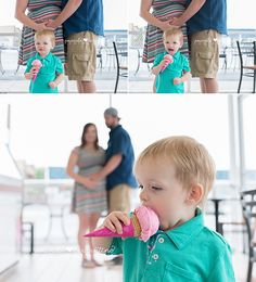 Gender Reveal Photos Ice cream