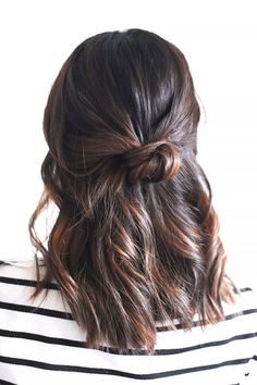 3 minute hairstyles for when you're running late