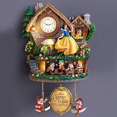 Snow White and the Seven Dwarfs disney clock