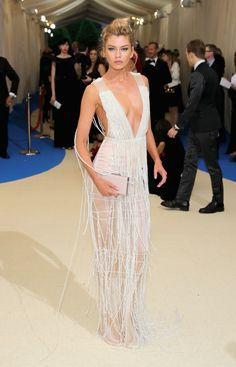 Stella Maxwell - In H&M at the 2017 Met Gala