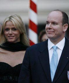 Charlene Wittstock and Prince Albert II of Monaco