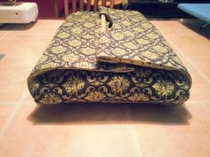 Navy and Lime Damask Insulated Casserole by NurseswithNotions, $30.00