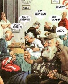 Led Zeppelin, Music Humor, Music Memes, Black Sabbath, Pink Floyd, Beatles, Rock And Roll, Cool Pictures, Funny Pictures