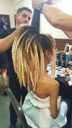 Wool Dreadlocks Custom Wool Dreads Handmade Hippie Dreads Hair Extensions Wool Dreads Ombre Hair Accessories Set of 45