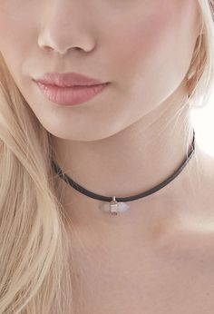 Faux Leather Charm Choker | FOREVER21 - 1000078279