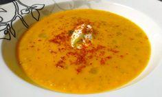 Roasted Tomato & Zucchini Soup