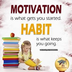 Good morning!! Self-motivate every day!!  http://www.pmstudentservices.org