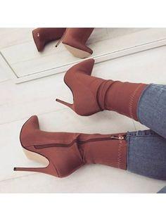 Women shoes Slip On - Women shoes Sneakers Jordans - Women shoes High Heels Classy Beautiful - Women shoes High Heels Pump Peep Toe High Heel Boots, Heeled Boots, Shoe Boots, High Heels, Women's Boots, Ankle Boots, Boot Heels, Boots With Heels, Ankle Heels