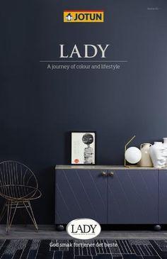 Jotun LADY - Det nye vakre fargekartet 2015 by Jotun Dekorativ AS - issuu Blue Wall Colors, Wall Paint Colors, St Pauls Blue, Jotun Paint, Home Wall Painting, Jotun Lady, Deco Blue, Wonderwall, Blue Walls