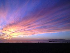 Sunset in Marina Del Rey, CA