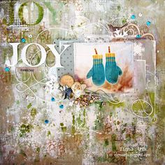 Tutorial: Cómo crear un fondo mixed media - Layout Joy | Manualidades