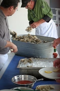 wedding oyster bar