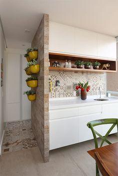 Duda Senna Arquitetura e Decoração: eklektik tarz tarz Balkon, Veranda & Teras