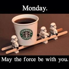 Nothing fixes Monday mornings better than coffee and stormtroopers.
