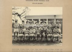 Haslemere Rugby club Team Photograph season named players sport surrey Rugby Club, Surrey, Front Row, The Row, Photo Wall, Sports, Painting, Art, Kunst