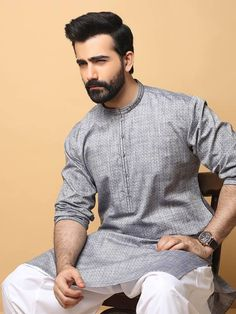 Edenrobe Men Kurta Shalwar Eid Collection 2019 - PK Vogue