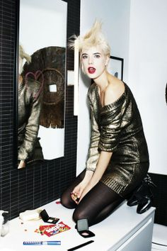 I want to be Aggy Deyn