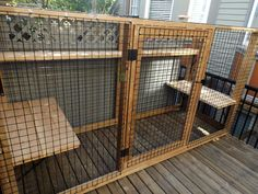Outdoor Cat Enclosure attached to Window . Outdoor Cat Enclosure attached to Window . Deck Enclosures, Outdoor Cat Enclosure, Outdoor Potting Bench, Alley Cat Allies, Cat Fence, Outdoor Pictures, Fancy Cats, Deck Lighting, Cat Condo