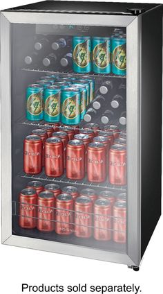 Shop Insignia™ 115-Can Beverage Cooler Stainless steel at Best Buy. Find low everyday prices and buy online for delivery or in-store pick-up. Price Match Guarantee.
