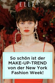 Gesehen auf der New York Fashion Week: Der Schneewittchen-Look von Michael Kors und Carolina Herrera ist der Make-up-Trend für den Herbst 2021!