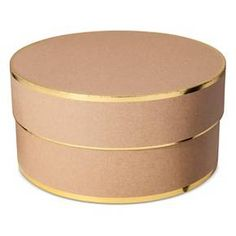 Sugar Paper® Kraft Brown Square Gift Box - Large   Box