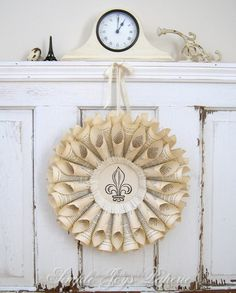 shabby chic, soft whites, french decor