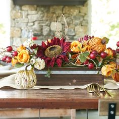 Please visit postingan Michaels Fall Decor Guide To read the full article by click the link above. Thanksgiving Decorations, Seasonal Decor, Table Decorations, Holiday Decor, Fall Table Centerpieces, Thanksgiving Table, Decorating Blogs, Fall Decorating, Nifty Diy