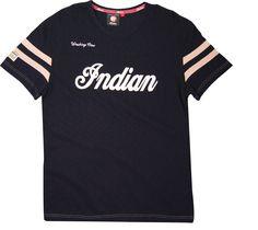 GENUINE INDIAN MOTORCYCLE BRAND WRECKING CREW LONG SLEEVE T-SHIRT TEE GRAY