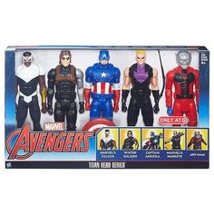 NEW Marvel Avengers 5 Pack Titan Hero Series Action Figures