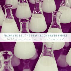 Did you know that 75% of perfume chemicals are phthalates (endocrine disruptors)? Our daily exposure is dangerous: fragrance is the new secondhand smoke.