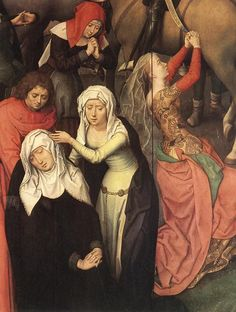 HANS MEMLING (1430 - 1494)   Scenes from the Passion of Christ (detail). Galleria Sabauda, Turin, Italy.