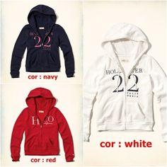 Embroidered Logo Graphic Hoodie R$58 Hollister, Hoodies, Logos, Sweaters, Fashion, Blouses, Moda, Sweatshirts, Fashion Styles
