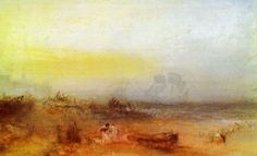 Turner, Joseph Mallord William: Morgen nach dem Schiffbruch (Morning after the Wreck)