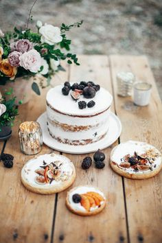 An Ode to Fall Cake by - Le Loup