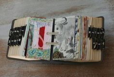 a refined aesthetic, journaling-ideas: Journal: more scrapodex