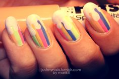 Candy nails! from justmynails.tumblr.com