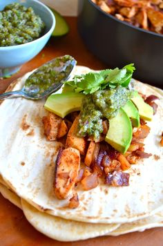 Chicken Poblano Tacos - All-Time Favorite Tacos by Rachel Schultz