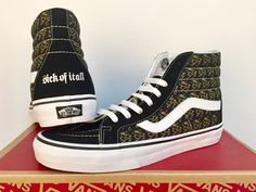c93fe4e307 RARE VANS Sick Of It All Sk8-Hi Limited Edition - Only 86 made -