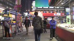 【Hong Kong Walk Tour】Saturday night on Nathan Road 星期六夜遊彌敦道