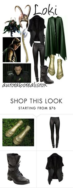 """""""Loki"""" by auroraborealisrox ❤ liked on Polyvore featuring Helmut Lang, Steve Madden and River Island"""