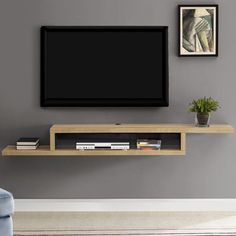 Vidalia Floating TV Stand for TVs up to - Ascend Asymmetrical Wall Mounted TV Component Shelf - Martin Furniture, Tv Furniture, Pallet Furniture, Living Room Furniture, Furniture Stores, Furniture Dolly, Furniture Movers, Furniture Outlet, Discount Furniture