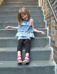 Ruffled Halter | Free Sewing Patterns | Oliver + S; Sizes 18-24mo to 10-12years