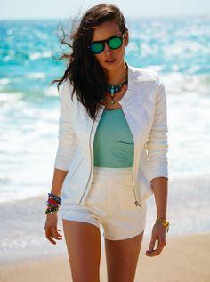 New Day Jacket + Fashionista Short
