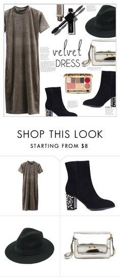"""Velvet Dress"" by mycherryblossom ❤ liked on Polyvore featuring Marni, Dolce&Gabbana and vintage"