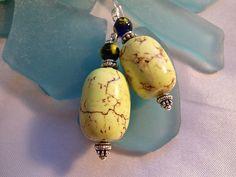 green Turquiose earrings !