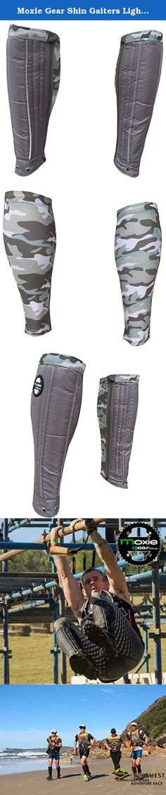 Moxie Gear Shin Gaiters Light Grey Front Light Grey Camo Back Large. The new Moxie Shin Gaiter now comes in 11 different colour combinations and features a full length zipper for quick transitions. No more messing around taking your shoes off every time you want to put your shin gaiters on. Great for those CrossFit comps and multi-sport races where time is critical, and also multi-day adventure races. Moxie Gaiters are designed to protect your shins and keep grit out of your shoes. The…